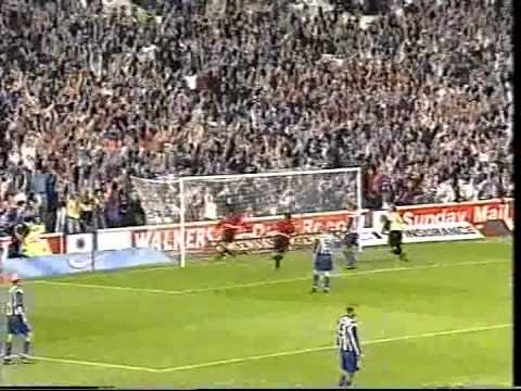 Charlie Miller Goal vs Gothenburg 27th August 1997
