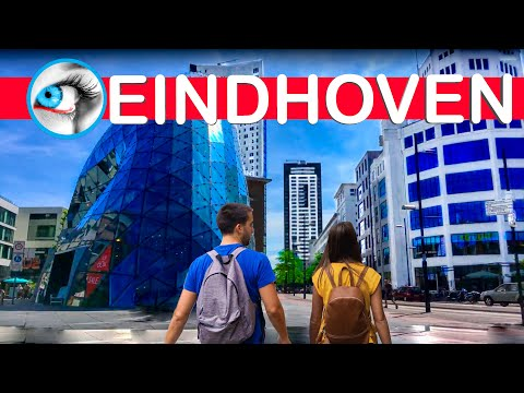 EINDHOVEN - SHORT TOUR - TRAVEL GUIDE 4K - NETHERLANDS