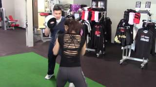 UFC Strawweight Star Michelle Waterson Puts On A Great MMA/Boxing Workout