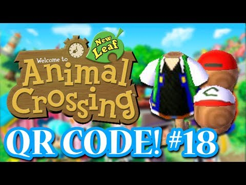 ANIMAL CROSSING: NEW LEAF - QR CODES - ASH SHIRT! (EPISODE 18)