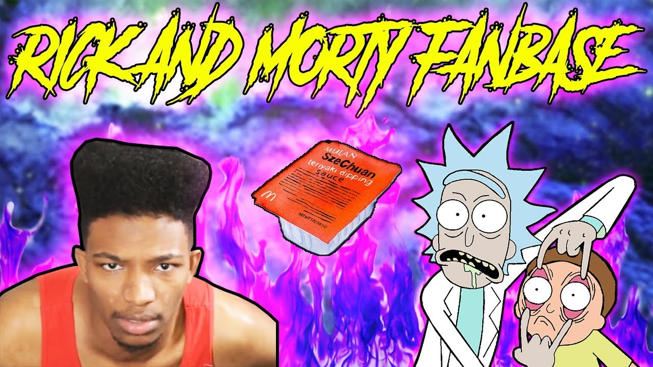 ETIKA REACTS TO THE MCDONALDS SZECHUAN SAUCE OUTRAGE [RICK AND MORTY FANBASE]