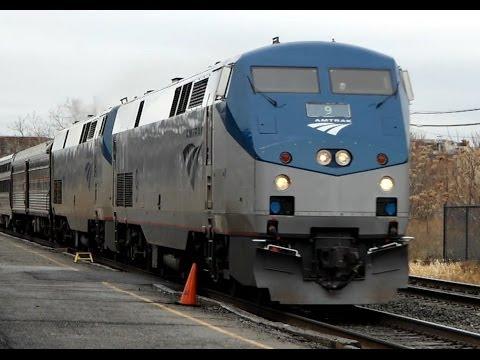 ROCHESTER - NEW YORK CITY AMTRAK LAKE SHORE LIMITED FAST TRAIN ( Tren Rápido )