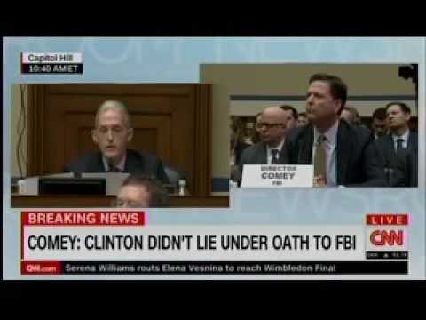 Trey Gowdy Destroys FBI's James Comey over Hillary Clinton's 'Intent'