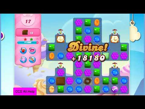 Candy Crush Saga Level 2924 NO BOOSTERS Cookie