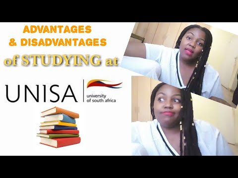 UNISA Student Life | Advantages & Disadvantages Of STUDYING At UNISA