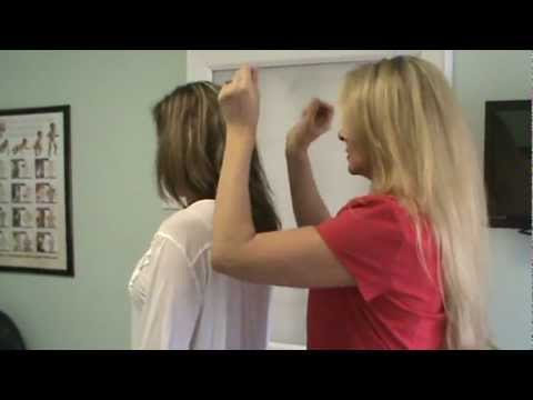 KST Chiropractic Adjustment for Stress Relief and Shoulder Pain at Van Every
