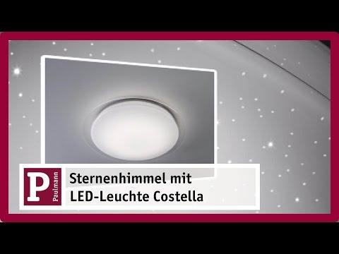 LED Deckenleuchte Costella mit Sternenhimmel