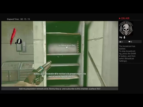 ronny-kray-jr's Live PS4 Broadcast