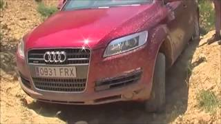 Audi Q7 на бездорожье клубное видео  часть 2   !!!(Audi Q7 on the off-road, club