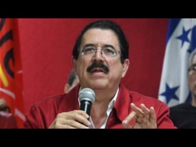Manuel Zelaya: Oposición unida es una derrota del régimen en Honduras