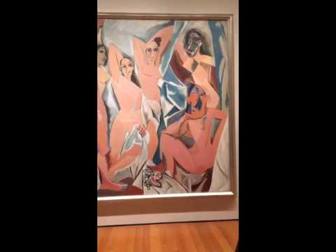 MoMA - Un recorrido por el museo de arte moderno en español - periscope [17/06/2016]