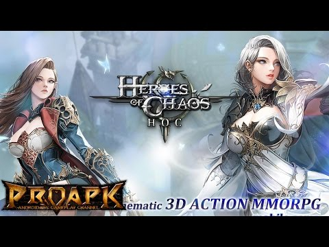 Goddess: Primal Chaos Gameplay iOS / Android