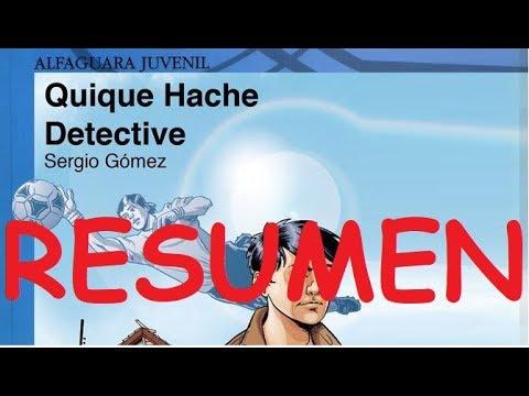 (audiolibro)-quique-hache-detective---resumen---comentarios-del-lector