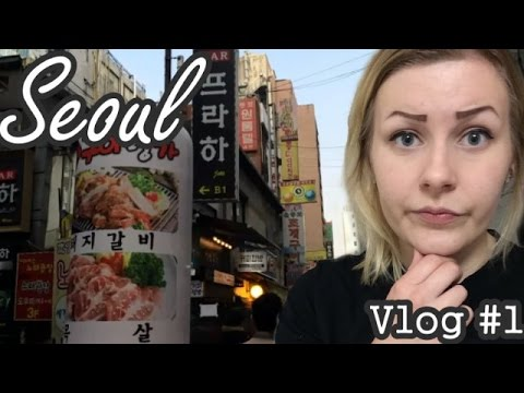 Kein Geld in KOREA   SEOUL VLOG #1