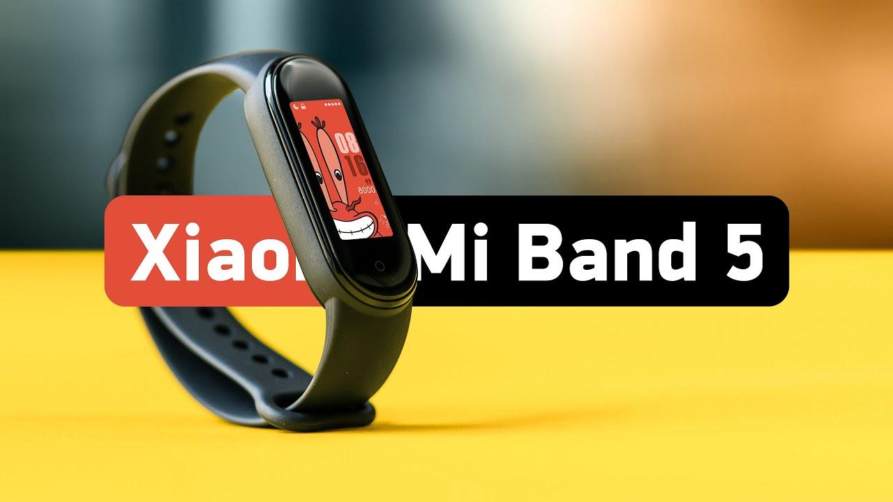 Xiaomi Mi Band 5 — подробный обзор и настройка! - YouTube