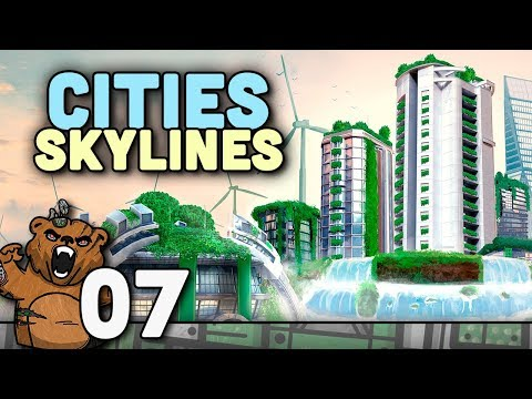 Boost de população | Cities Skylines #07 - Green Cities Game