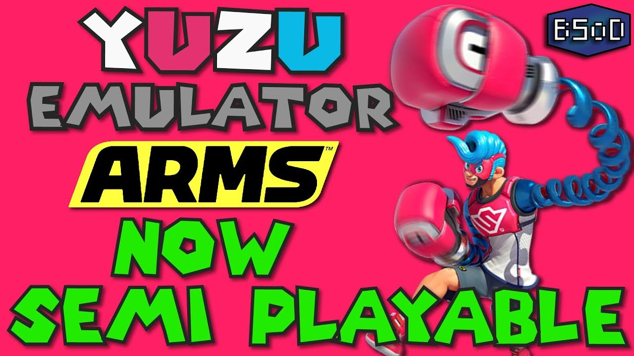 Switch Exclusive ARMS is now Semi Playable in Yuzu Emulator [Nintendo  Switch Emulation]