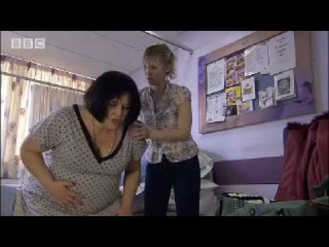 Ness in labour - Gavin & Stacey - BBC comedy