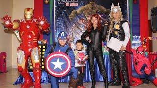 Show de Avengers - Recreolandia, Lima