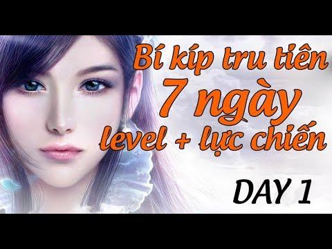 [ Tru Tiên 3D ] Bí kíp 7 ngày tăng 1 TRIỆU lực chiến + level ( Day 1)