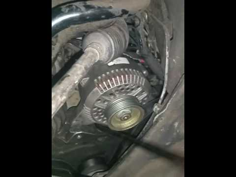 1999 - 2000 Mercury Cougar Alternator Replacement and Wire test part