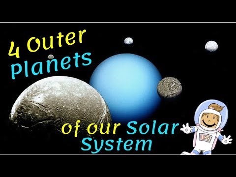 Learning about the Solar System for Kids  - 4 Outer Planets