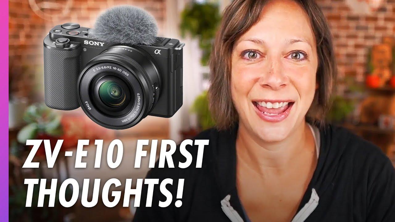 NEW! Sony ZV-E10 Camera - Best Camera for Live Streaming?