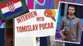 Интервью от TTBeauty с Tomislav Pucar (Хорватия, Загреб). №32 в мировом рейтинге (март 2020г.)