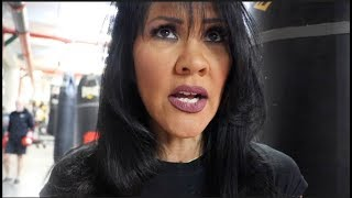 MIA ST JOHN - 'WOMANS BOXING IS BACK IN TH SPOTLIGHT BUT NOT LIKE IT WAS IN THE LATE 90s'