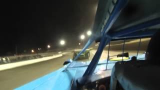 Blaise Hetznecker in NLMS race at Volusia Speedway Park 9-14-13 Heat Race