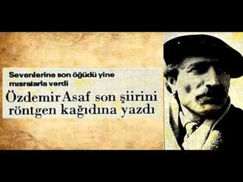 Özdemir Asaf kısa ama harika şiir