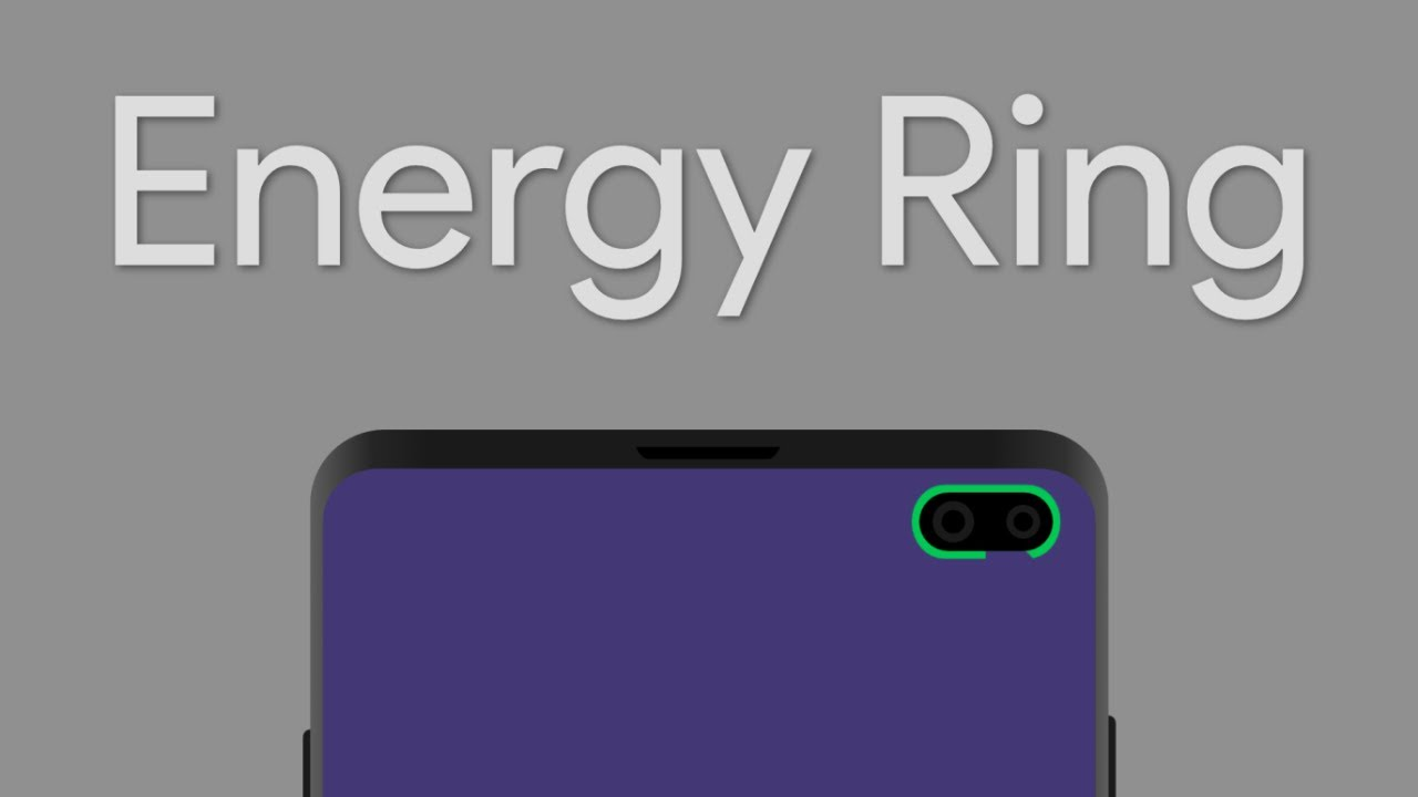 How To Customize The Camera Cutout On Your Samsung Galaxy S10 Plus With  Energy Ring