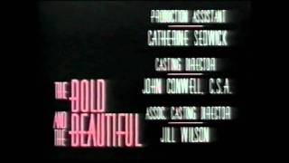 The Bold and the Beautiful closing 1987