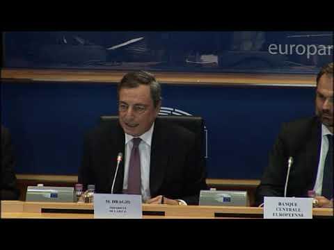 Brian Hayes MEP question ECB President Mario Draghi on QE