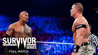FULL MATCH - John Cena & The Rock vs. The Miz & R-Truth: Survivor Series 2011