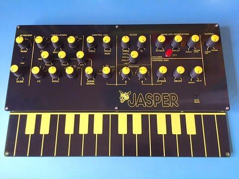 Jasper Synthesizer Demo