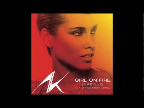 Alicia Keys - Girl On Fire (Clean)