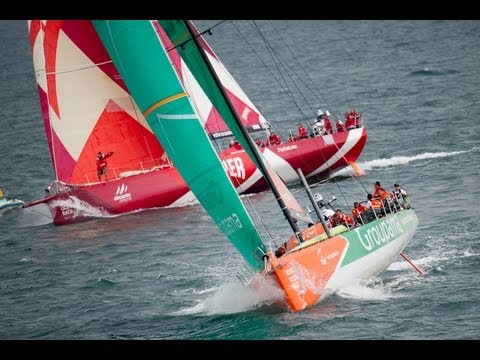 DHL In-Port Race Itajai Live Replay | Volvo Ocean Race 2011-12