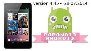 Paranoid Android for Nexus 7 - Review
