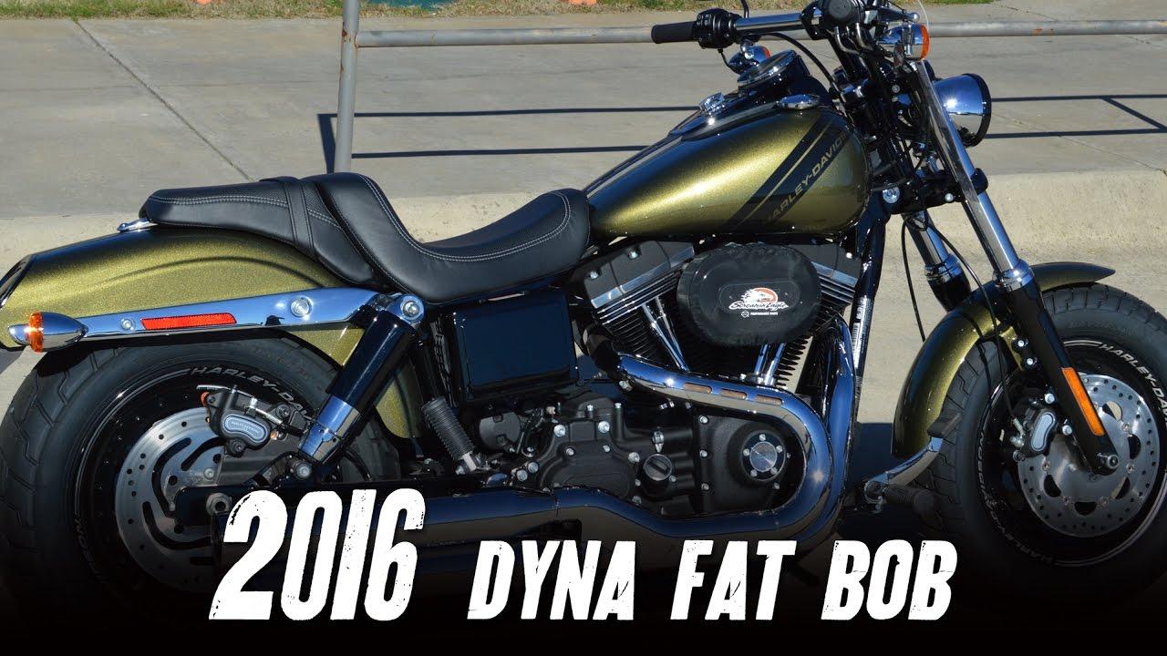 2016 Harley Davidson Fxdf Dyna Fat Bob Olive Gold