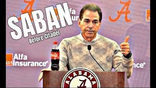 Alabama Crimson Tide Football: Nick Saban before Citadel, Tua Tagovailoa is not limited