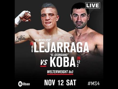 AEBOX - Kerman Lejarraga vs Koba Karkashadze