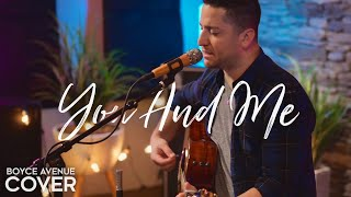 You And Me - Lifehouse (Boyce Avenue acoustic cover) on Spotify & Apple thumbnail