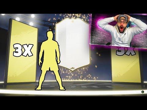 YES! 3 ICON SBC PACKS! & INSANE 3MIL PROFIT!! FIFA 19 Ultimate Team RTG thumbnail