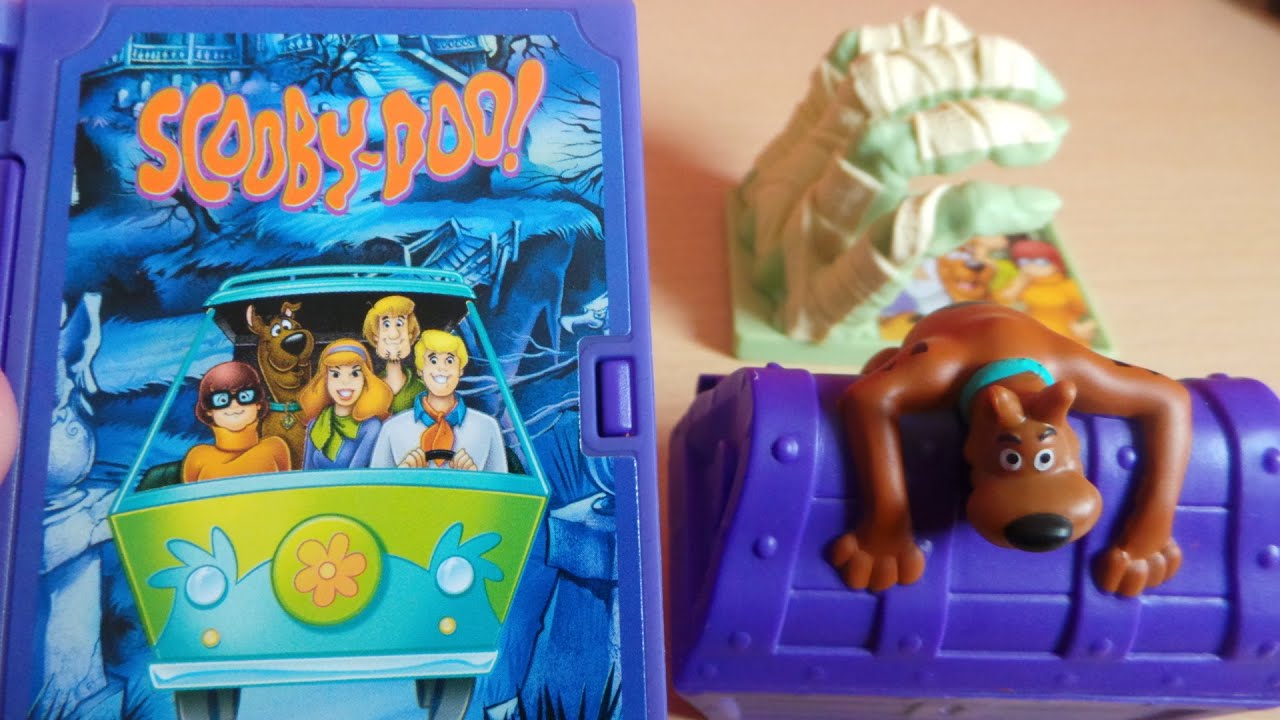 Best Scooby Doo Toys For Kids : Latest uk mcdonalds kids happy meal scooby doo and shaggy