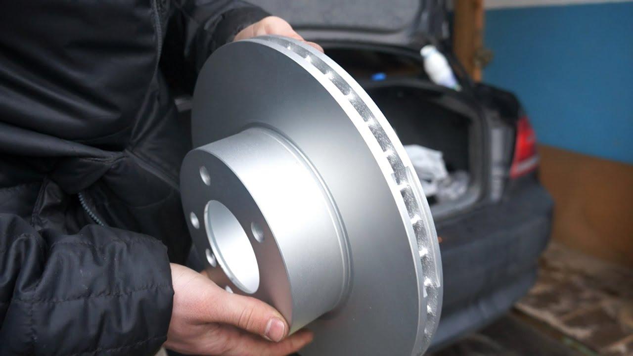 BMW E92: замена тормозных дисков, колодок, шлангов