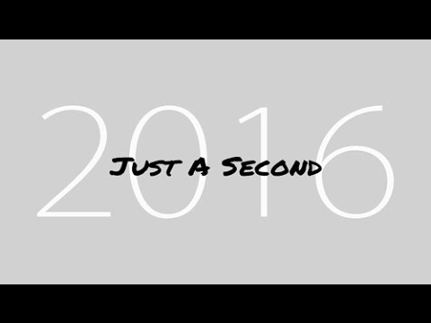 Just A Second 2016 : One Second Everyday image