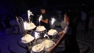 видео - Король свадебного банкета – торт :: Свадьба