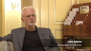 John Adams talks about the world premiere of his Saxophone Concerto in Sydney