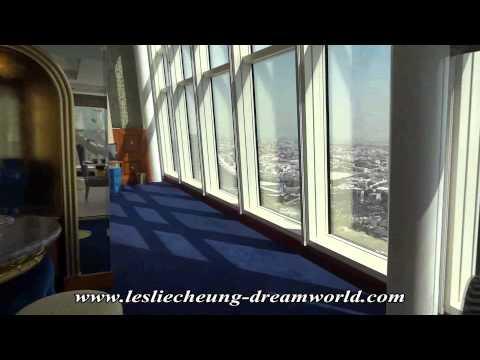 Dubai vacation (Oct 2014). Panoramic Suite, Burj Al Arab hotel, Dubai